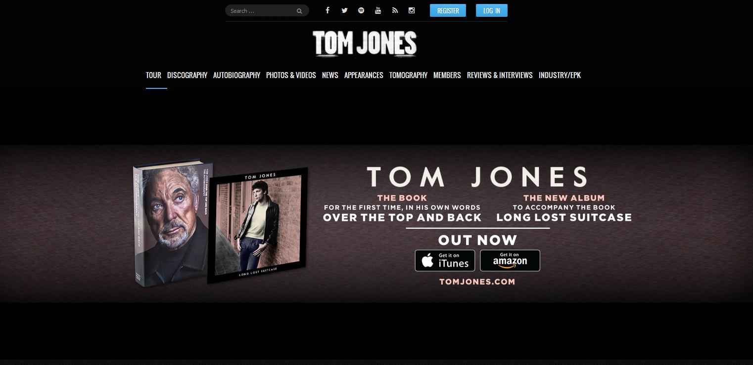 Tom Jones блог