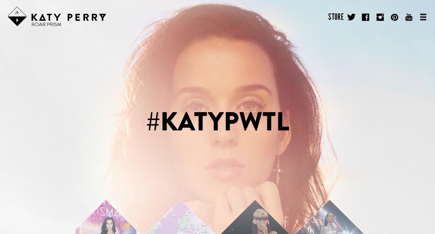 Katy Perry блог
