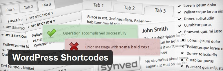 плагин WordPress ShortCodes