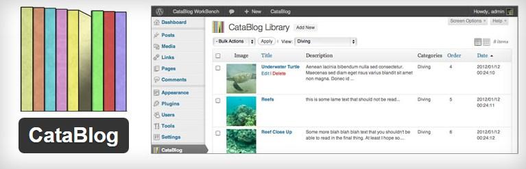 плагин CataBlog