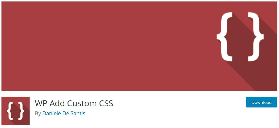 Плагин WP Add Custom CSS