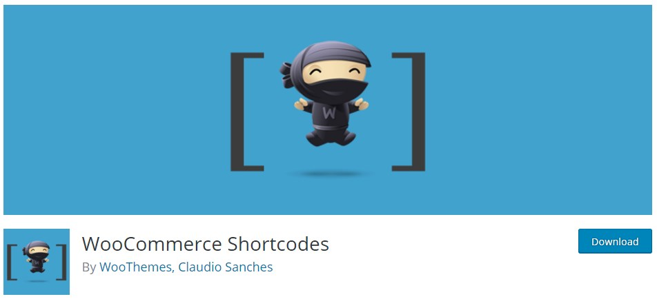 Плагин WooCommerce Shortcodes