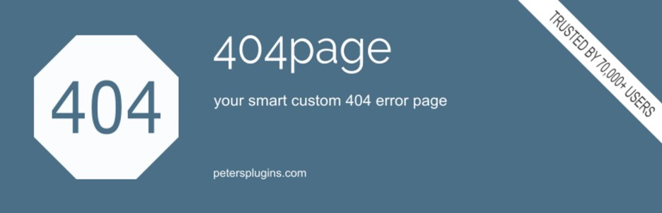 404page — your smart custom 404 error page